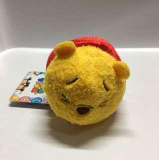 Japan Tokyo Disney Winnie the Pooh Halloween Tsum Tsum 小熊維尼 萬聖節版限定公仔 可內外反轉