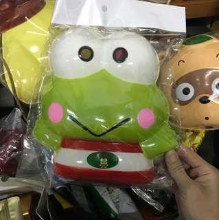 "Sanrio 96""keroppi 大眼青蛙 krp 面具"