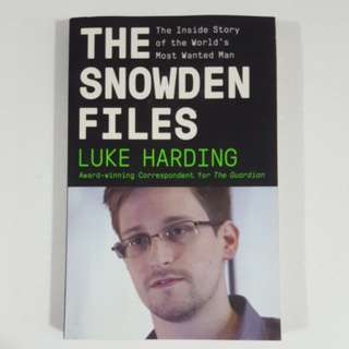 The Snowden Files by Luke Harding *New*