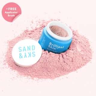 [FREE REG MAIL] cheapest BNIP Sand&Sky Australian Purifying Pink Clay Mask instock