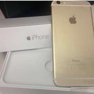iPhone 6s Plus rose gold or iPhone 6 Plus gold