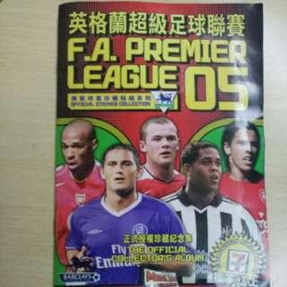 英格蘭超級足球聯賽2005原裝珍藏貼紙系列