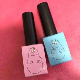 Barbapapa x modi nail colour 指甲油