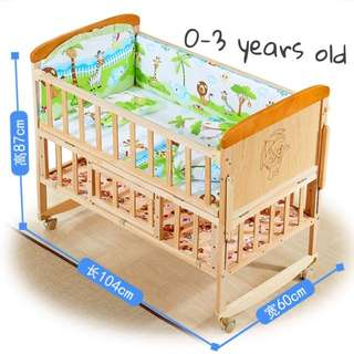 Baby cot - 0-3 yrs old