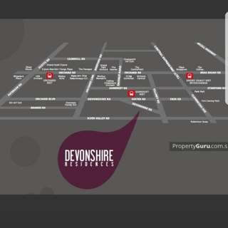 1 bedder @ Devonshire Residences