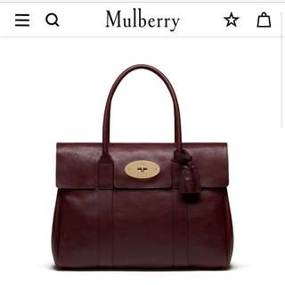 Brand New Authentic Mulberry Bayswater Tote