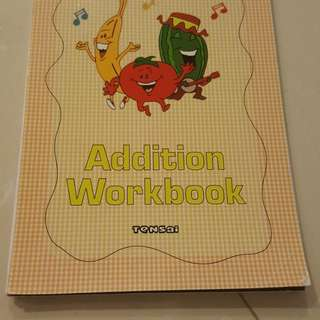 BN Shichida Addition Workbook by Tensai