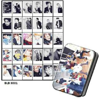 Block B Lomocard + Tin Box