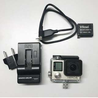 GoPro Hero 4 Silver FOR SALE❗️