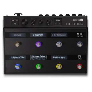 Line 6 HX Effects guitar multi-effects floor processor (NEW!!) + $51 EX1 expression pedal (In stock, 2 sets available) (limited time)