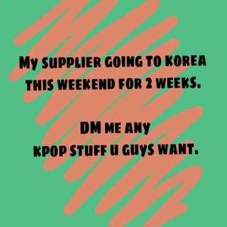 Kpop Stuff