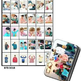 Btob Lomocard + Tin Box
