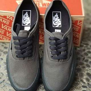 Vans Authentic Mono Green Army Premium Quality Shoes