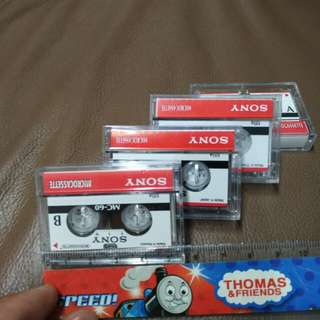 Sony Mc~60 microcassette @$5