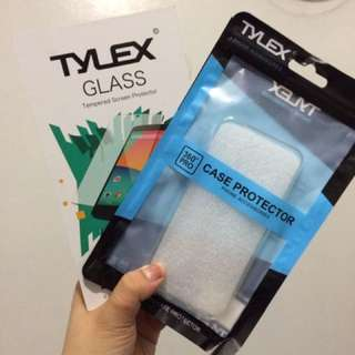 Tylex Tempered Glass for iPhone 5/5s/SE