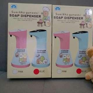 日本直送景品 Sanrio 角落生物自動洗手液機 Sumikko gurashi