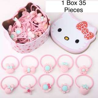 Kids Hairband / Kids Hair Accessories Hello Kitty Box