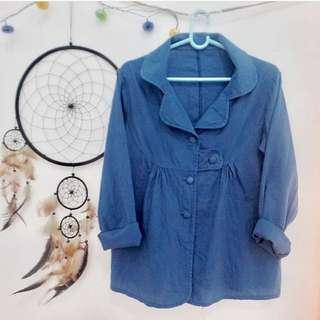 Blue Outwear