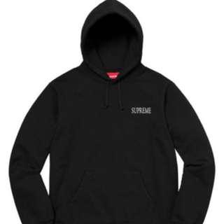 大平賣#Supreme #Decline Hooded Sweatshirt #Black #M size #100% real and new, 多谷