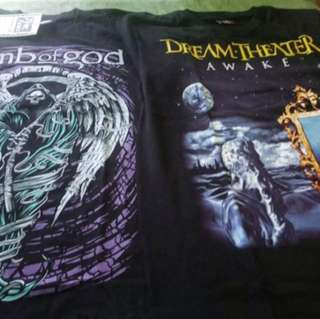 Band shirts from US