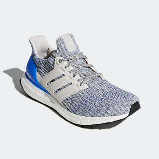 Authentic Adidas Ultraboost 4.0 Chalk Pearl / Carbon