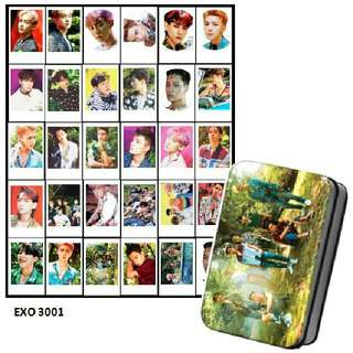 Exo Lomocard + Tin Box
