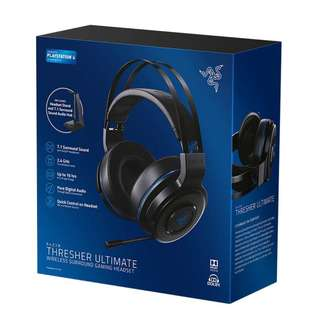 Razer Thresher Ultimate Wireless Gaming Headset (PS4/PC/MAC) 12 Months Warranty