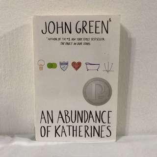 John Green : An abundance of Katherines