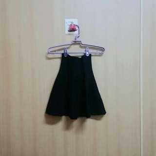 🚚 黑色彈力散裙(棉)