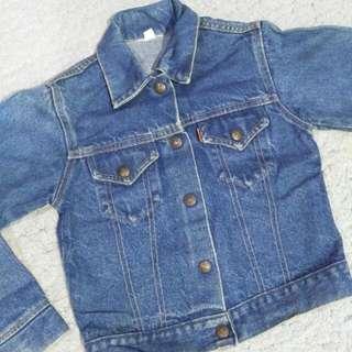 Vintage Kids Levis Jacket
