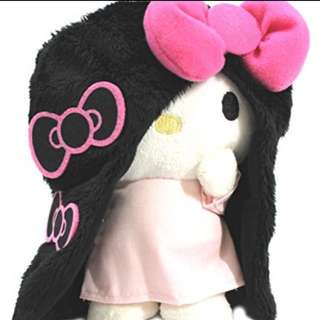 "Hello Kitty Plush Toy ""SADAKU YAMAMURA"" (japan export)"