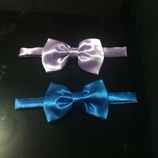 bow ties satin