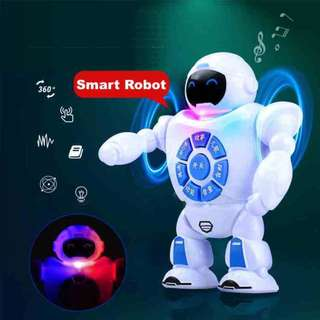 Upgraded Rechargeable Early Childhood Education, Walking, Singing Smart Robot
