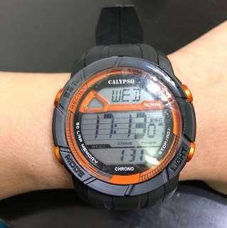 Calypso Chrono digital watch