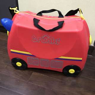 Trunki Luggage - Fire Truck 🚒