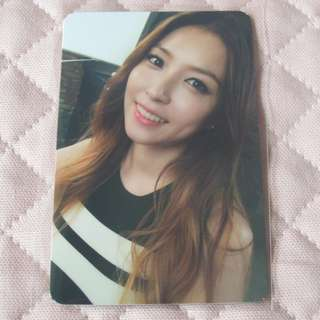 BoA Kiss My Lips official photocard