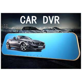 Dual Camera!1080 Full HD! 4.3' Inch LCD!Rear-View Car Camcorder Camera!Full HD 1080P Night Vision