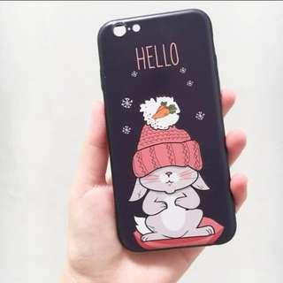 FREE ONGKIR Rabbit iphone 6 6s case PREMIUM