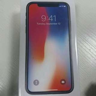 IPHONE X ( Sealed - Original) - 256gb