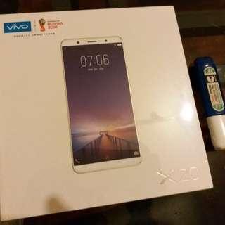 (議價不回)全新智能手機 smartphone brand new(Vivo X20 64gb ROM+4gb RAM) Matte black