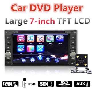 7'' Car DVD Player Stereo Radio For Toyota w/ Camera Sensor