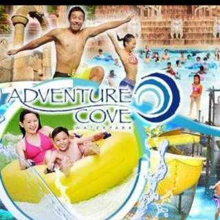 Adventure cove water park Eticket