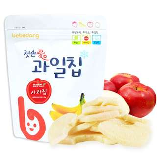 Bebedang Freeze Dried Fruit Chip - Apple / Baby snack / Baby food