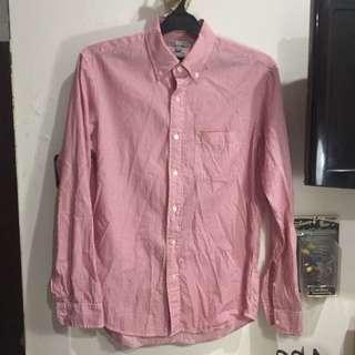 Red white stripes shirt