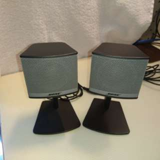 Bose companion 3 multimedia speaker ( Selling Only the 2 speakers )