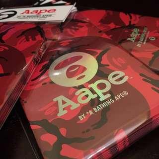 Aape 幻彩Logo 利士封