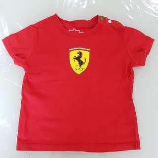 Kids Tee Ferrari authenic