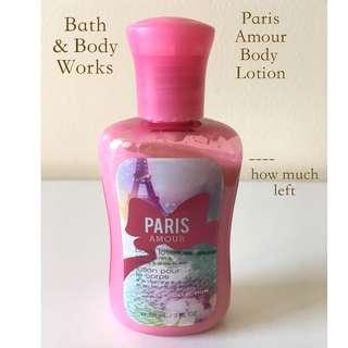 Bath & Body Works Paris Amour Body Lotion