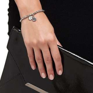 Mimco Memoir Silver Bracelet