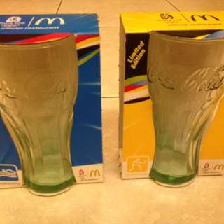 McDonald's 2008 Olympics Limited Edition Coca-Cola Glass Cup